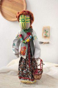 Motanka-doll «Nadiyka is a master-hand»