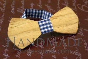 """Oak wood bow tie """"Dude"""""""