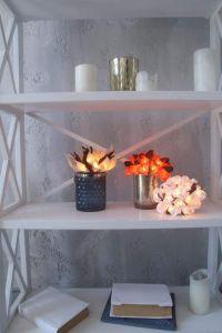 Orange flower stringlight