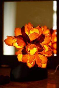 Orange indoor fairy lanterns