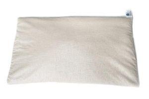 """Organic buckwheat pillow """"Honey dreams"""""""