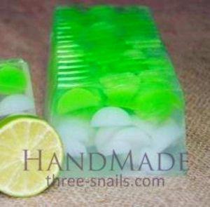 Organic Natural Soap «Lime»