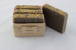 "Organic soaps ""12 herbs"""