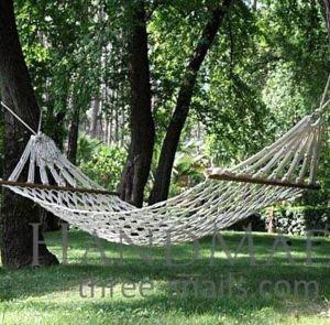Outdoor handmade hammock