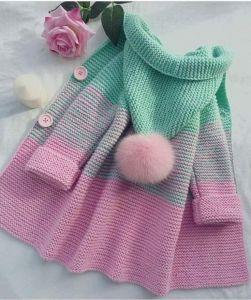 Girls wool cardigan