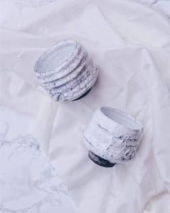 "Pottery bowls set ""Japanese culture"""