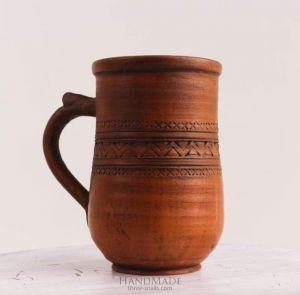 "Pottery mug ""My Morning"""