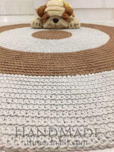 Round baby room rug