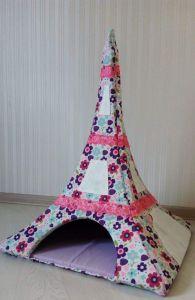"Сat pet house ""Eiffel Tower"""