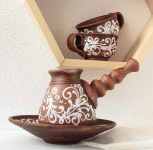 "Set for coffee ""Aroma-brown"""