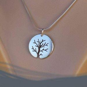 "Silver pendant ""Tree of Life"""