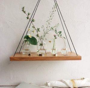 "Simple hanging swing shelf ""Home garden"""