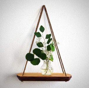 "Small hanging wall shelf ""Eco spirit"""