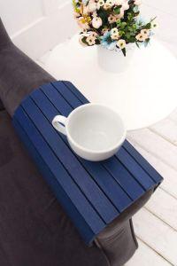 Sofa tray blue