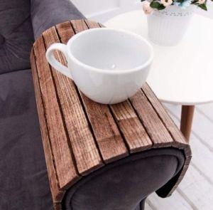 Sofa tray brown vintage