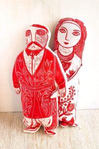 "Soft toy ""Ukrainian wedding"""