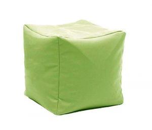 "Square pouf ""Colorful cube"""