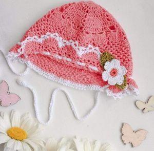 "Сrochet kids hats ""Coral lace"""