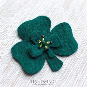 "St Patrick's day accessory ""Elegant Green"""