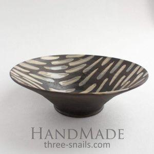 "Stylish ceramic bowl ""Dark desire"""