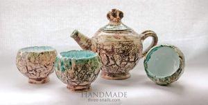 """Tea set """"Many years ago"""""""
