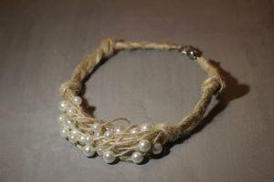 "Tender Handmade Necklace ""Pearls"""