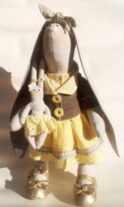"Textile doll ""Bunny Glasha"""