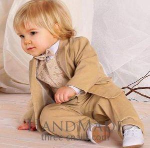 """Toddler boy clothes """"Beige elegance"""""""