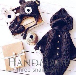Toddler knitted set