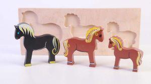 "Toy farm animals ""Horses"""
