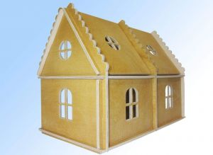 """Toy wooden house """"Country house for doll"""""""