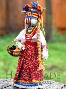 Traditional toys. Motanka-doll «Svitanka»