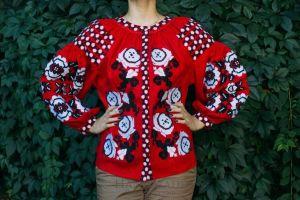 "Ukrainian clothing""Red passion"""