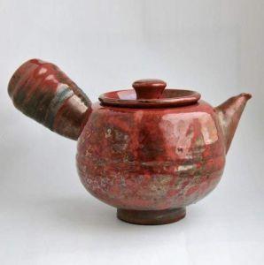 Unique ceramic teapots. «Raku» teapot