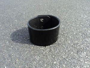 "Unisex leather cuff bracelet ""Legacy"""