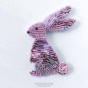 "Unusual Brooch ""Easter Bunny"""