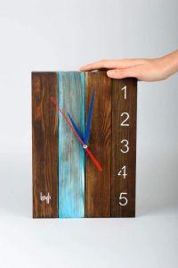 "Wall clock wood ""Art Decor"""