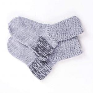 "Warm socks for winter ""Gray shades"""