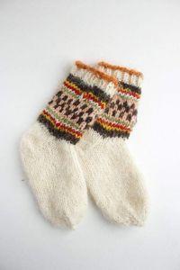"""Warm socks """"Kaleidoscope"""""""