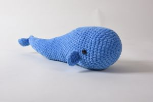 Crochet toy Whale