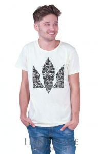 White Man T-shirt «Hymn»