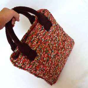 """Womens tote bag """"On the way"""""""