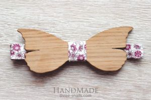"""Wood bow tie """"Butterfly"""""""