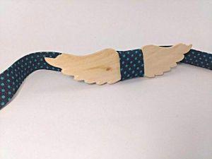 """Wood bow tie """"Wings"""""""
