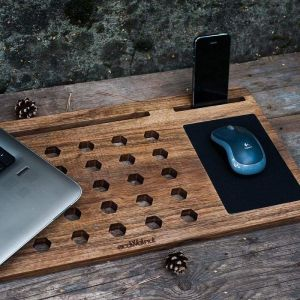 """Wood laptop stand """"Desk for Laptop"""""""