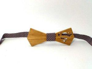 "Wooden bow-tie ""Superman"""
