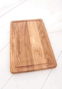 "Wooden cutting board ash ""Housewife"""