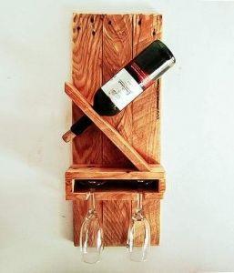"Wooden wine stand ""Gourmet"""