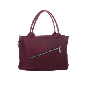 Medium leather shoulder bag