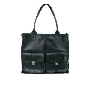 Ladies black tote